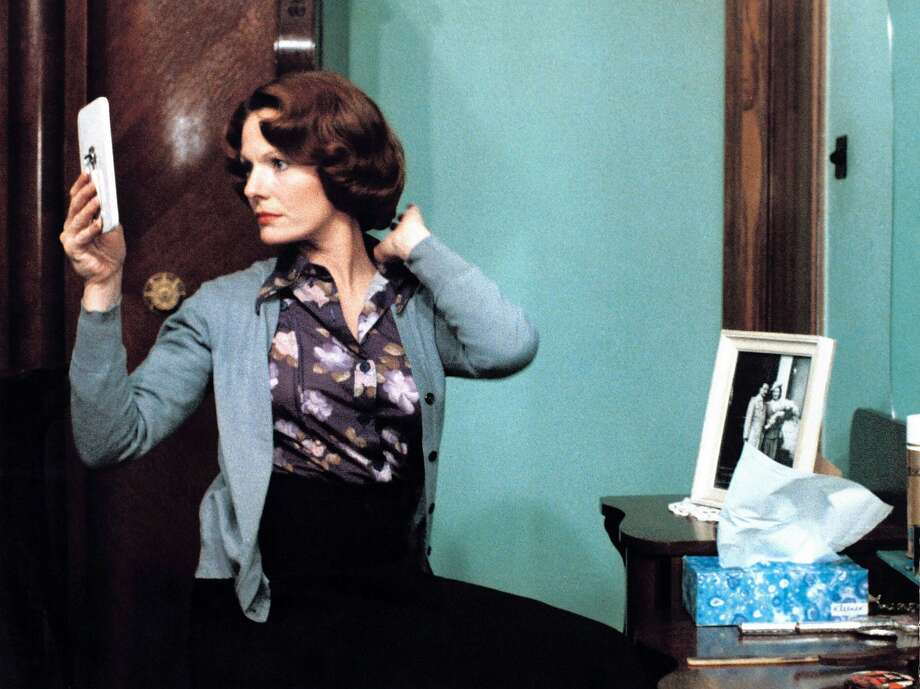 "Delphine Seyrig as the title character in a scene from Chantal Akerman's ""Jeanne Dielman, 23, quai du Commerce, 1080 Bruxelles"" (1975). Photo: Criterion"