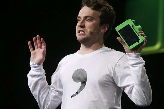 Comma.ai CEO George Hotz speaks at the TechCrunch Disrupt conference in San Francisco, Calif. on Tuesday, Sept. 13, 2016.