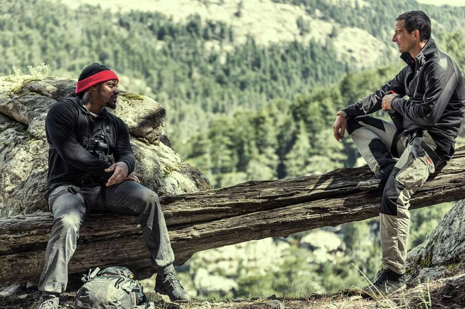 "Marshawn Lynch on NBC's ""Running Wild With Bear Grylls."" Photo: NBC/Ben Simms/NBC"