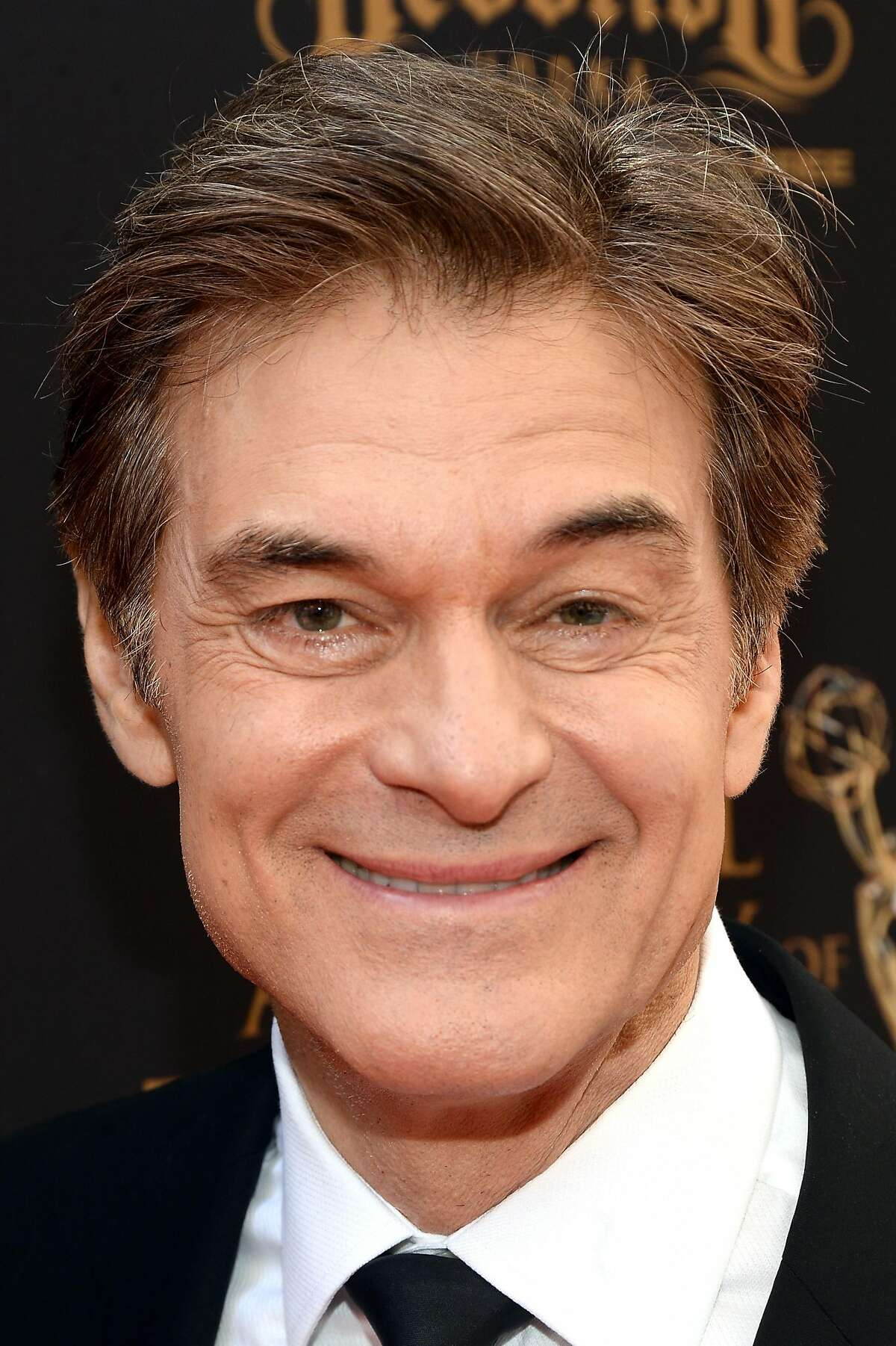 LOS ANGELES, CA - MAY 01: Dr. Mehmet Oz arrives at the 43rd Annual Daytime Emmy Awards at the Westin Bonaventure Hotel on May 1, 2016 in Los Angeles, California. (Photo by Matt Winkelmeyer/Getty Images for NATAS)
