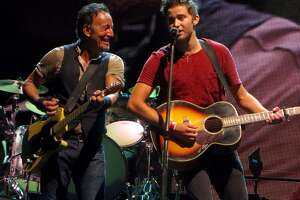 Matthew Aucoin got to play onstage with Bruce Springsteen.