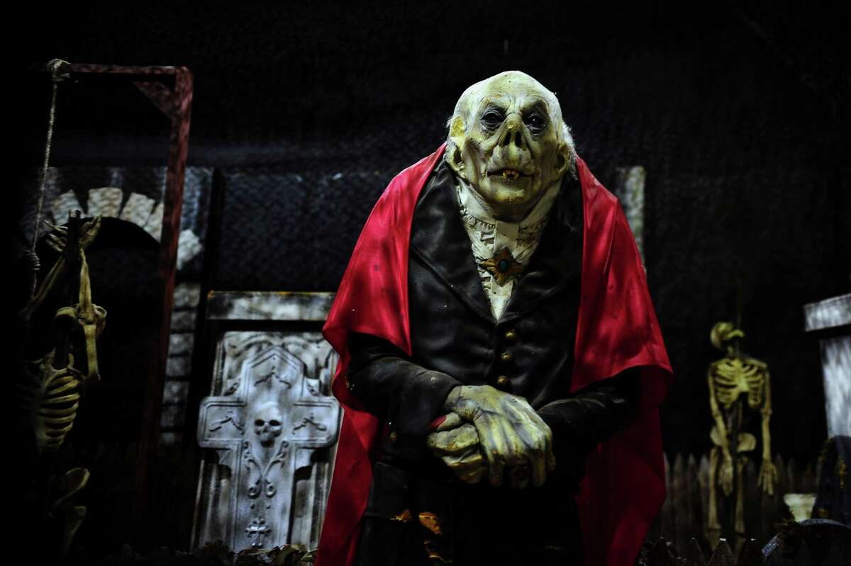Fright Haven, a haunted attraction for Halloween, is located in the former Balley's Fitness Center in Stratford Square Shopping Center in Stratford, Conn., on Tuesday Sept. 13, 2016. Fright Haven is being called CT's Greatest Indoor Haunted Attraction, with three separate haunted mazes.