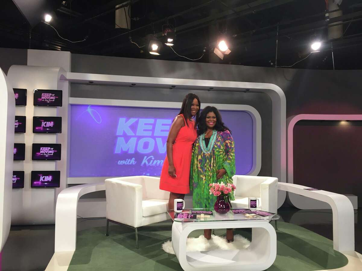 Gospel singer and Houston native Kim Burrell welcomes Angela Robinson as a guest on Keep It Moving. The show is filmed in Houston.
