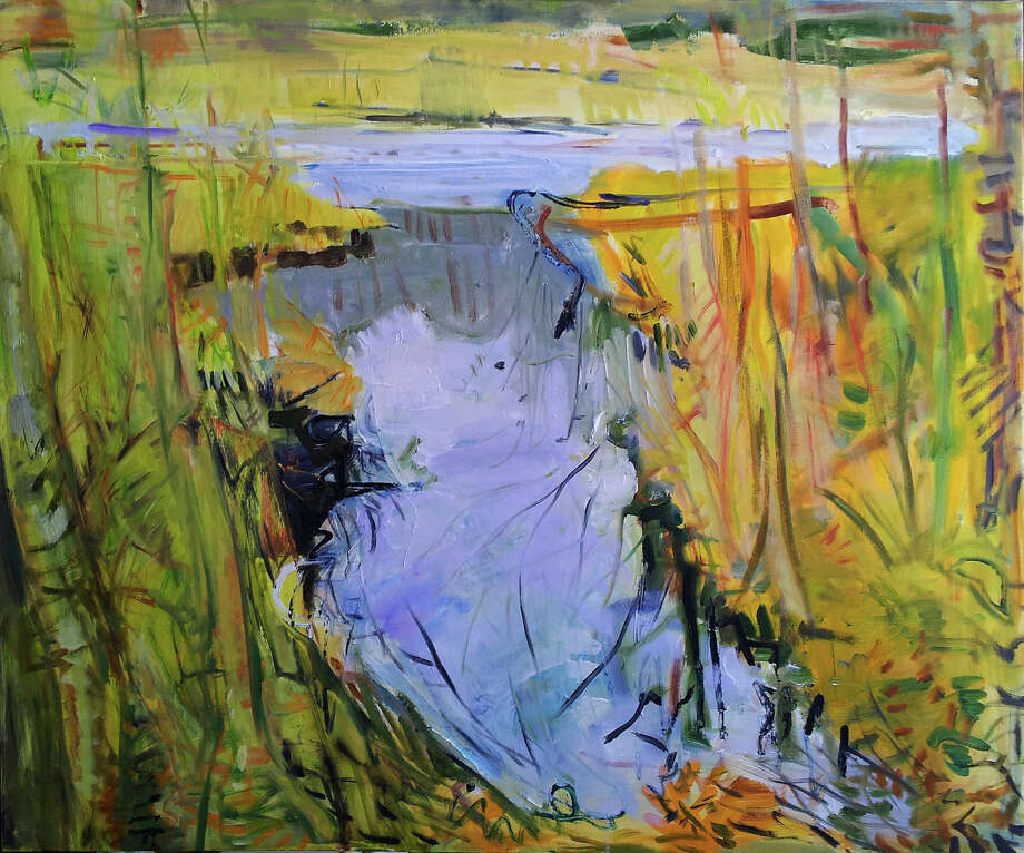 "Minor Memorial Library in Roxbury will open an exhibit of abstract landscape paintings by Ann Quackenbos with a reception Sept. 24 from 2 to 4 p.m. The show, ""Water Places,"" will run through Nov. 17. Above is Quackenbos Ash Swamp. The exhibit may be seen Mondays from noon to 7 p.m., Wednesdays from 10 a.m. to 5 p.m., Thursdays from noon to 5 p.m., Fridays from 10 a.m. to 5 p.m. and Saturdays from 10 a.m. to 2 p.m. at the South Street library. For more information, call 860-350-2181. Photo: Courtesy Of Minor Memorial Library / The News-Times Contributed"