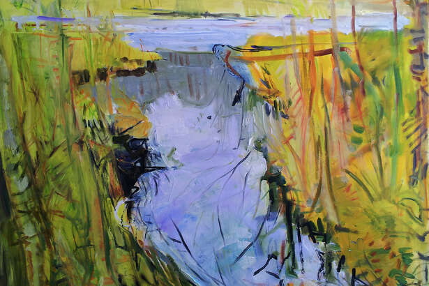 "Minor Memorial Library in Roxbury will open an exhibit of abstract landscape paintings by Ann Quackenbos with a reception Sept. 24 from 2 to 4 p.m. The show, ""Water Places,"" will run through Nov. 17. Above is Quackenbos Ash Swamp. The exhibit may be seen Mondays from noon to 7 p.m., Wednesdays from 10 a.m. to 5 p.m., Thursdays from noon to 5 p.m., Fridays from 10 a.m. to 5 p.m. and Saturdays from 10 a.m. to 2 p.m. at the South Street library. For more information, call 860-350-2181."