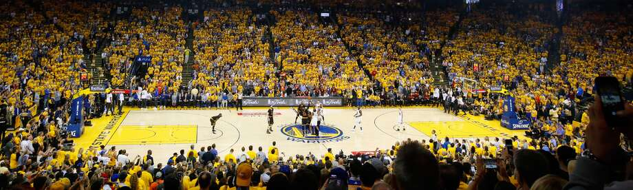 """""""Follow My Lead: The Story of the 2016 NBA Finals"""" is the first sports documentary to be produced in virtual reality. The NBA and Oculus, the Facebook-owned VR company, released the 25-minute video Wednesday. Photo: NBA Handout Image"""