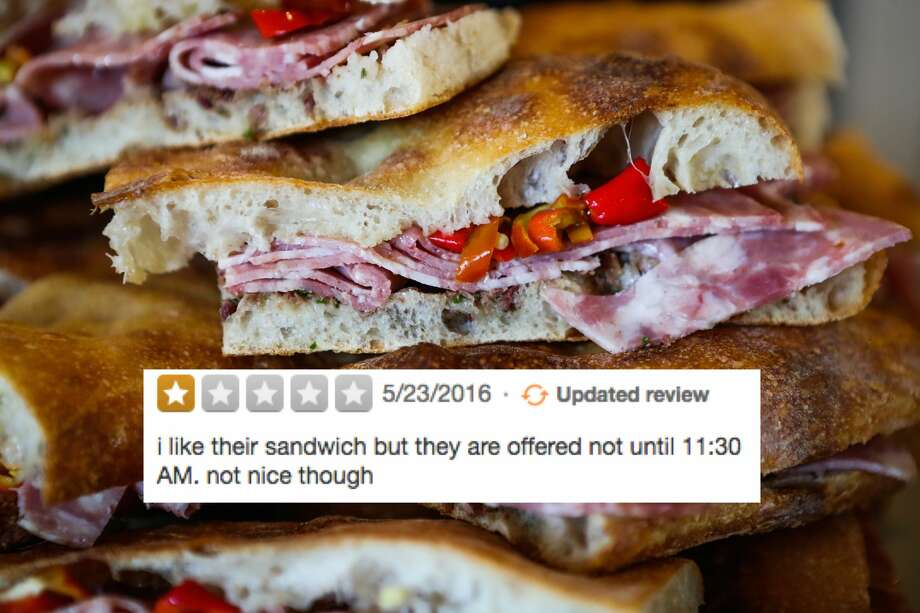 Tartine I'm sorry, but that's called lunch. They don't serve sandwiches until lunchtime. Photo: Gabrielle Lurie/Special To The Chronicle