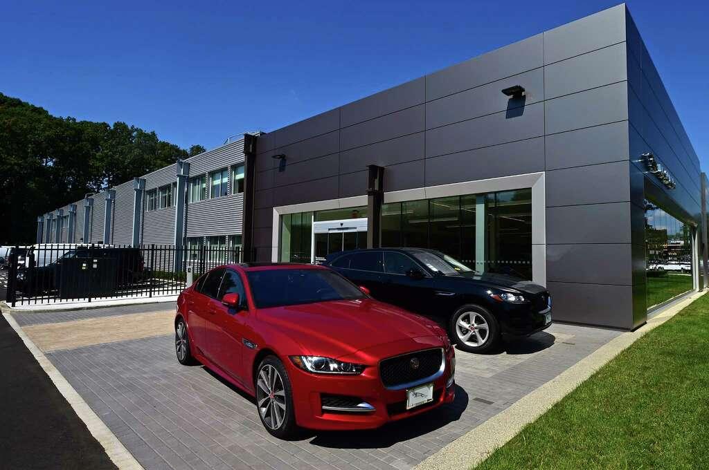 jaguar land rover shows off new darien dealership thursday - the hour