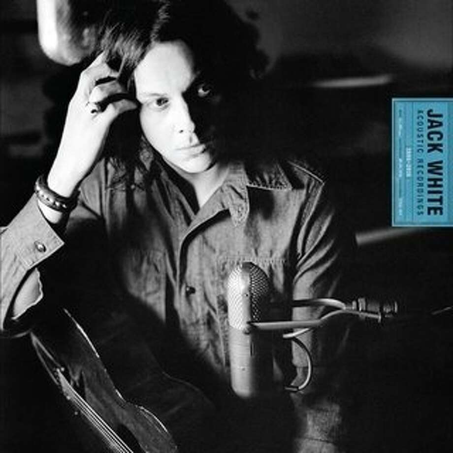 CD cover: Jack White: Acoustic Recordings, 1998-2016 Photo: Third Man Records