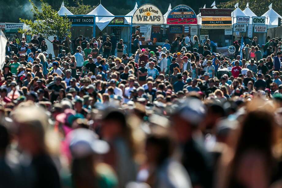 The Hardly Strictly Bluegrass festival runs from Sept. 30 - Oct. 2 in Golden Gate Park. Photo: Nathaniel Y. Downes, The Chronicle