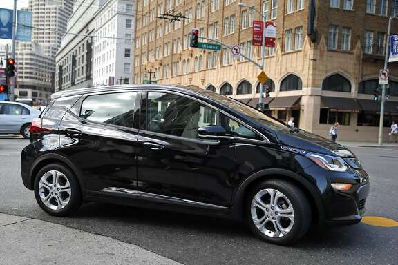 Chevy Bolt in San Francisco, Calif., on Tuesday, September 13, 2016.