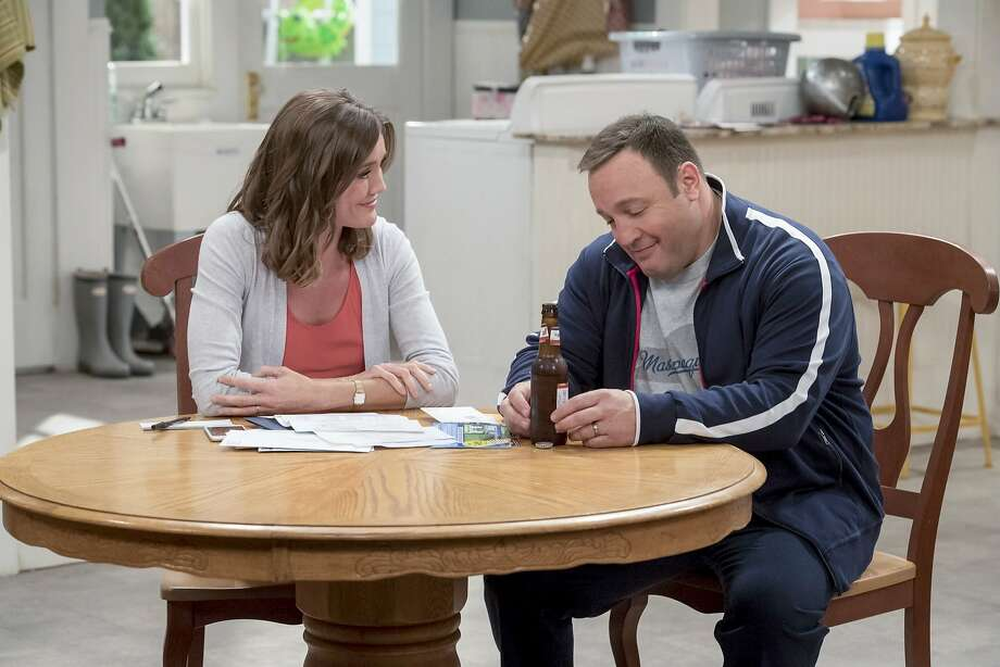"CBS sitcom stalwart Kevin James plays a retired cop and Erinn Hayes his wife in ""Kevin Can Wait."" Photo: David Giesbrecht, CBS"