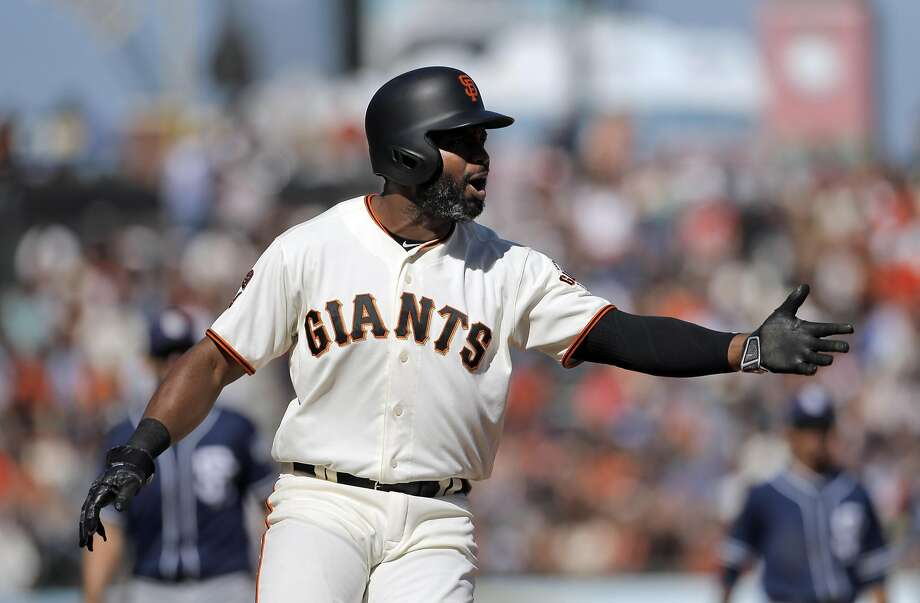 Post All-Star:The Giants are hitting .248.  In September they are hitting .217. Photo: Carlos Avila Gonzalez, The Chronicle