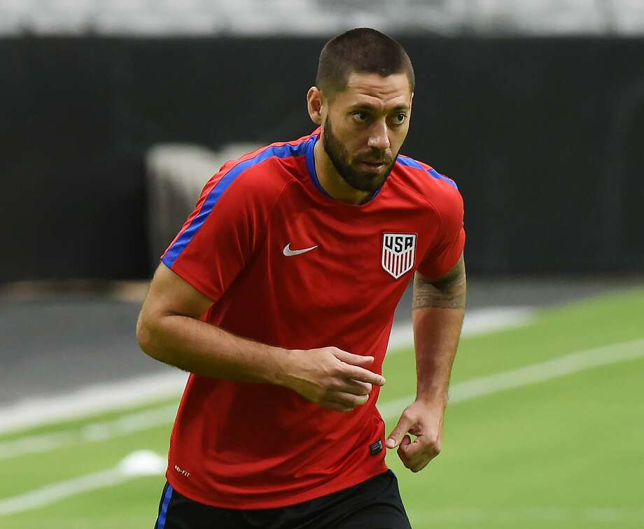 USA forward Clint Dempsey trains at the University of Phoenix Stadium in Phoenix, Arizona, on June 23, 2016, two days before their COPA America 2016, 3rd place final, soccer match against Colombia.  / AFP PHOTO / Mark RalstonMARK RALSTON/AFP/Getty Images Photo: MARK RALSTON, AFP/Getty Images