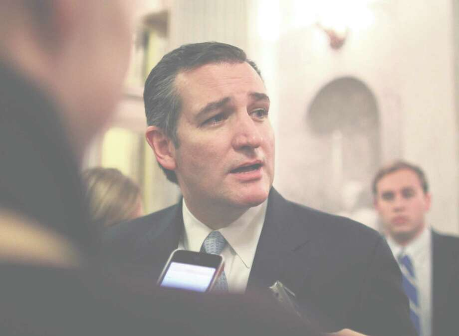 Sen. Ted Cruz has tied the internet domain issue to a government-funding bill. Photo: Lauren Victoria Burke, FRE / FR132934 AP