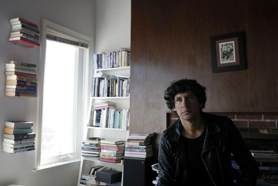 "Mauro Javier Cardenas' first novel, ""The Revolutionaries Try Again,"" is set both in San Francisco and his native Ecuador. Photo: Gabriella Angotti-Jones, The Chronicle"