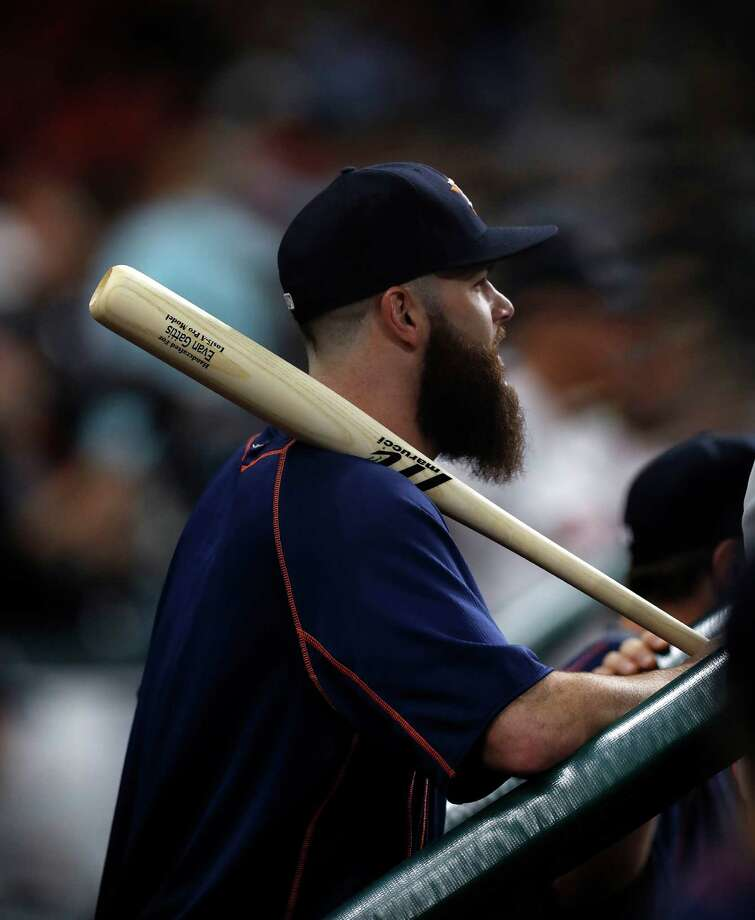 Astros ace lefthander Dallas Keuchel may start playing catch this week, but only if the team's already slim postseason chances are still alive. Photo: Karen Warren, Houston Chronicle / 2016 Houston Chronicle