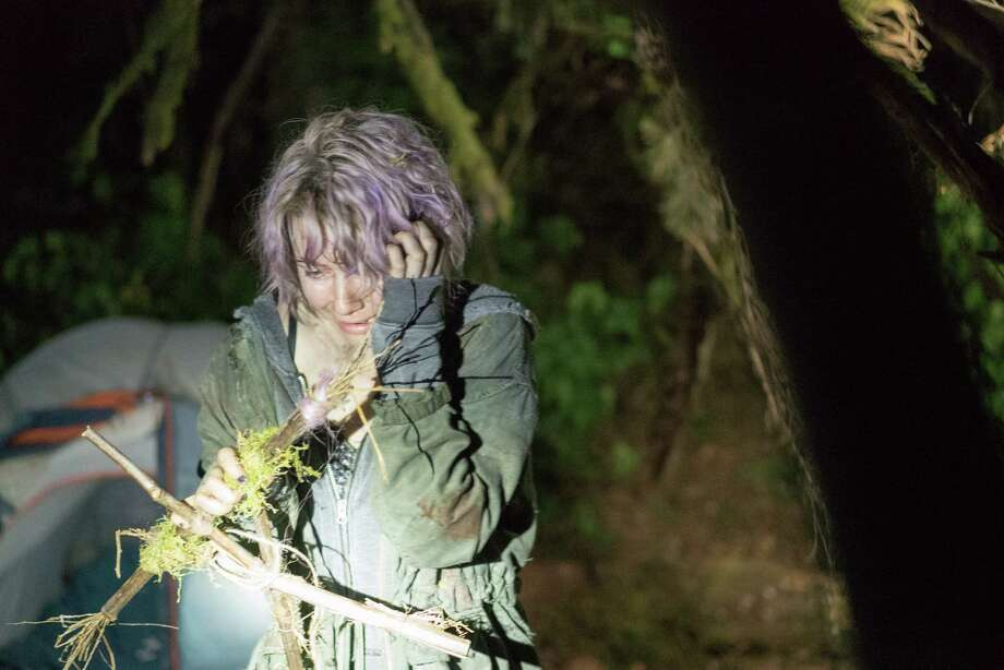 "Valorie Curry in a scene from ""Blair Witch."" Photo: Lionsgate / Lionsgate"