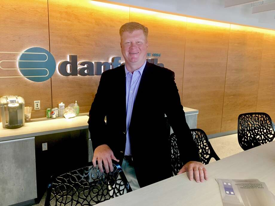 Brian Hannafin, vice president of corporate development at Danforth, at the Buffalo company's office at SUNY Poly's ZEN building.   Source: Larry Rulison