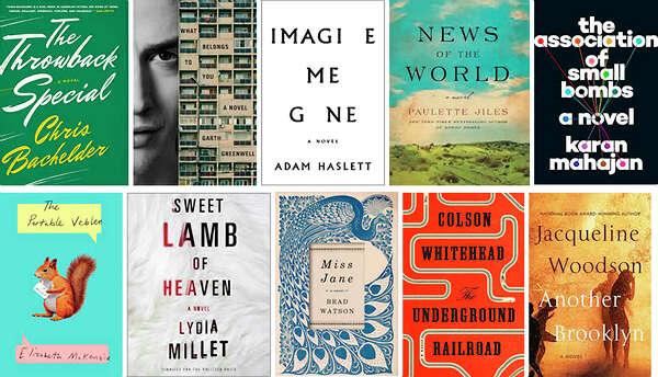 10 novels named contenders for National Book Award for fiction