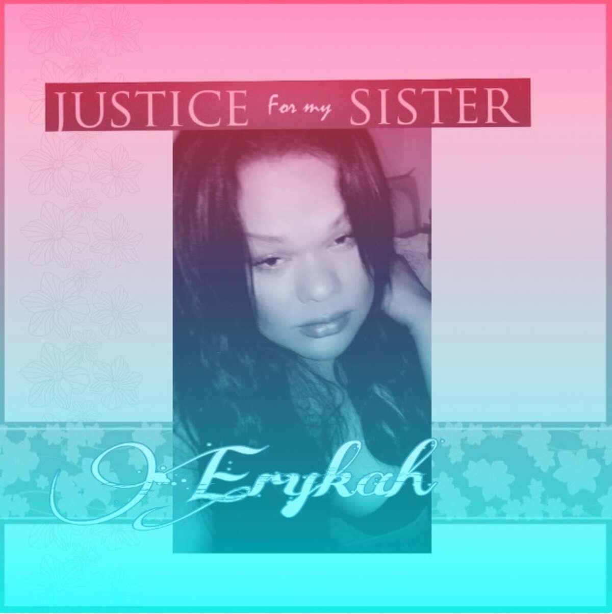 Erykah Tijerina, 36, was found dead Aug. 8, 2016 in El Paso in the 200 block of Lisbon.