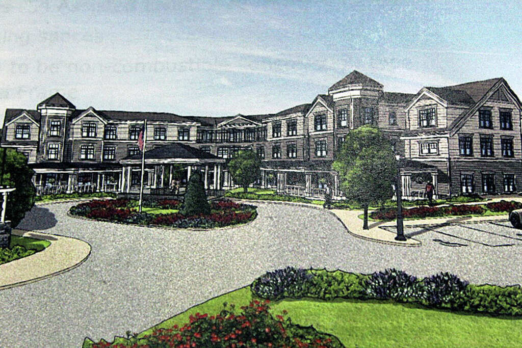 A Rendering Of A Proposed Assisted Living Facility On Stratfield Road. The  Special Permit Application