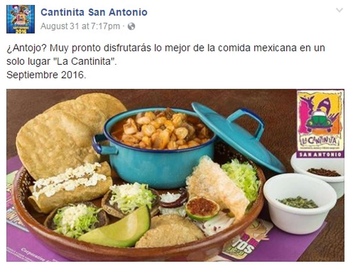 La Cantinita owned by former WWE star Alberto Del Rio, showcased a taste of what future customers can expect when the restaurant opens at 17776 Blanco Road on Sept. 29. 2016.