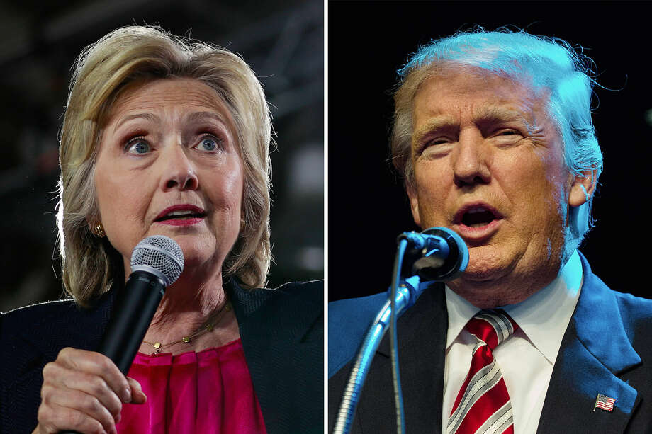 """One of these people will soon become the leader of the free world. So the question is: How do they measure up ... when it comes to BMI?Donald Trump made it easy when he gave out his height and weight on the """"Dr. Oz Show."""" It's a challenge with Hillary Clinton. She is frequently listed at 5 foot 6 inches. But sources in the newsroom who have met her said she is not that tall. Her weight has also been reported to be around 140 pounds. Newsroom speculation puts her closer to, perhaps north of 150. So ...Donald TrumpHeight: 6'3""""Weight: 236 poundsBMI: 29.5Hillary ClintonHeight: 5'4""""Weight: 155BMI: 26.6U.S. presidents have come in all shapes and sizes ... and fitness levels.Keep clicking through to see presidents from the least to the most fit. Photo: Doug Mills/The New York Times; Damon Winter/ The New York Times"""