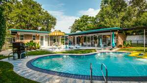 The Dallas home at 11016 Pinocchio Drive, known as the Smith House, is listed for sale.