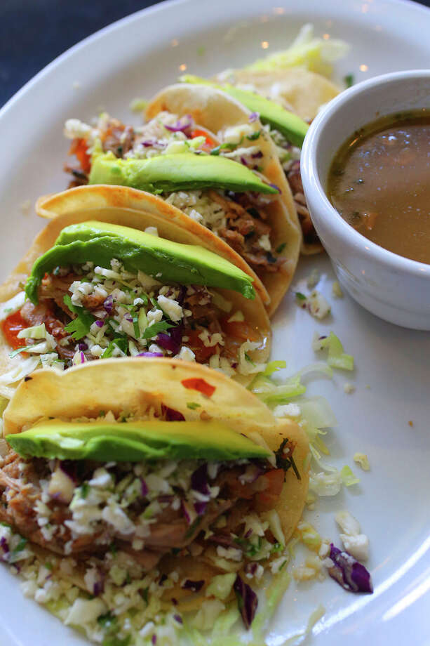 File photo of tacos. The owners of restaurant chain Don Pablo's Mexican Kitchen filed for bankruptcy Monday in San Antonio. Photo: John Davenport /San Antonio Express-News / ©San Antonio Express-News/John Davenport