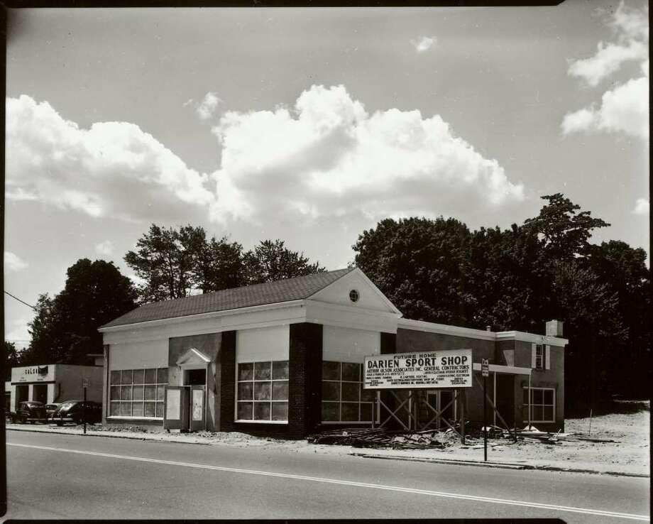 Darien Sport Shop in Darien, CT, as seen in its current location in 1954.