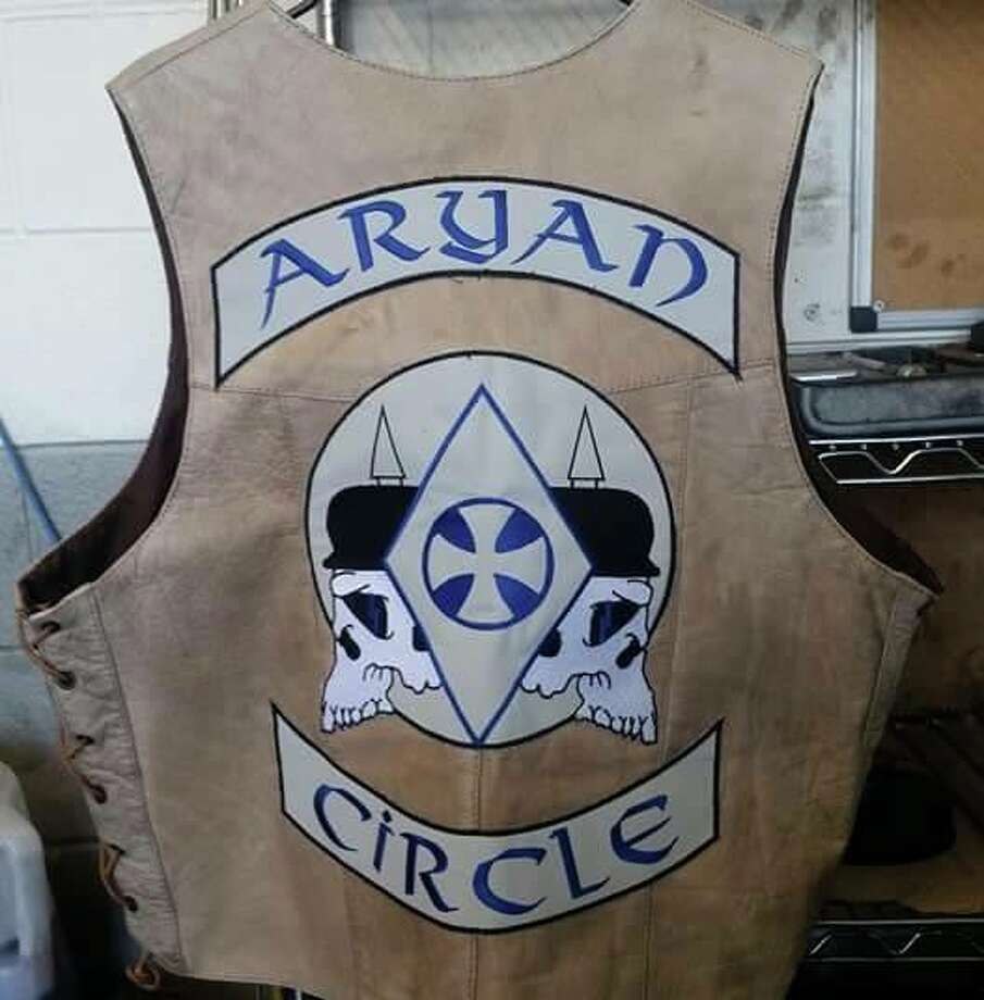 Click through the photos for 20 things to know about the Aryan Circle gang. Photo: Facebook