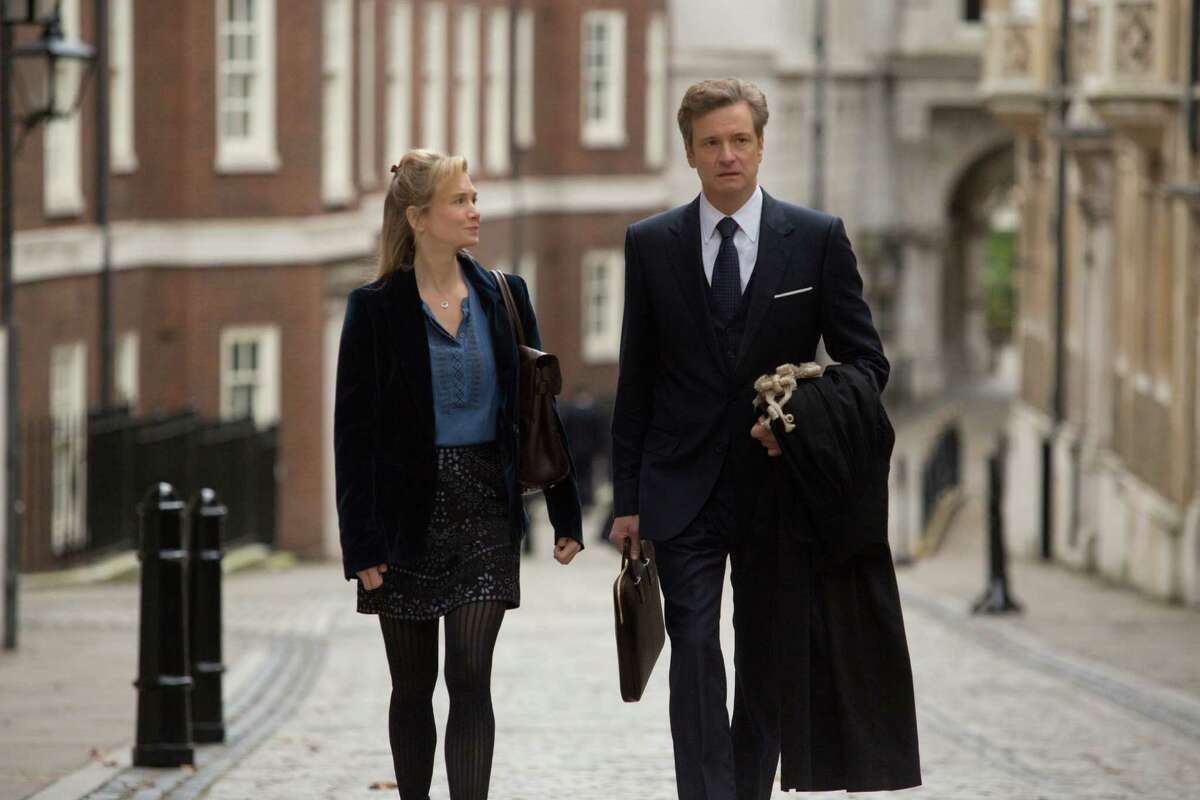 This image released by Universal Pictures shows Renee Zellweger, left, and Colin Firth in a scene from