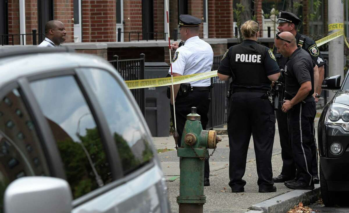 Albany Police are investigating a police involved shooting in front of 200 Green Street Wednesday Sept. 14, 2016 in Albany, N.Y. (Skip Dickstein/Times Union)