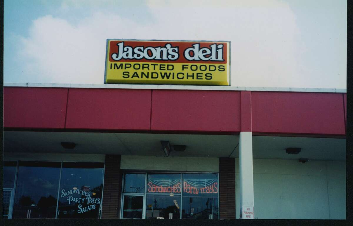 Humble beginnings The first Jason's Deli was opened in the Gateway shopping center in Beaumont, TX, in 1976 by Joe Tortorice Jr., the grandson of an Italian immigrant.The chain is celebrating 40 years of dishing out soup, sandwiches, salad bar trips and free ice cream.