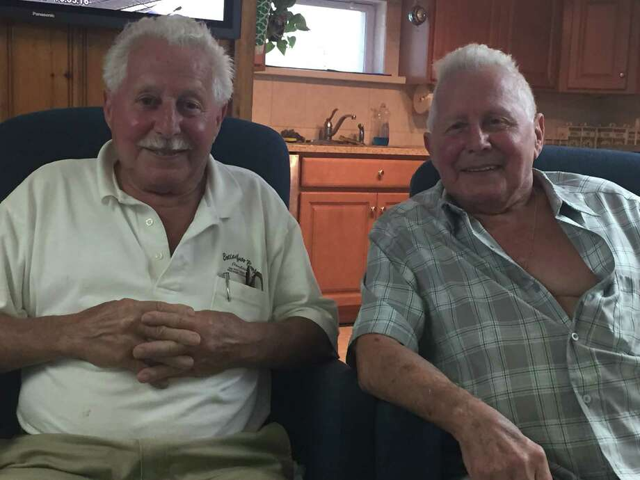 Since 1948 twins Dominick and Chris Boccanfuso have lived on Saugatuck Shores in the same house for decades. Photo: Contributed / Contributed Photo / Westport News