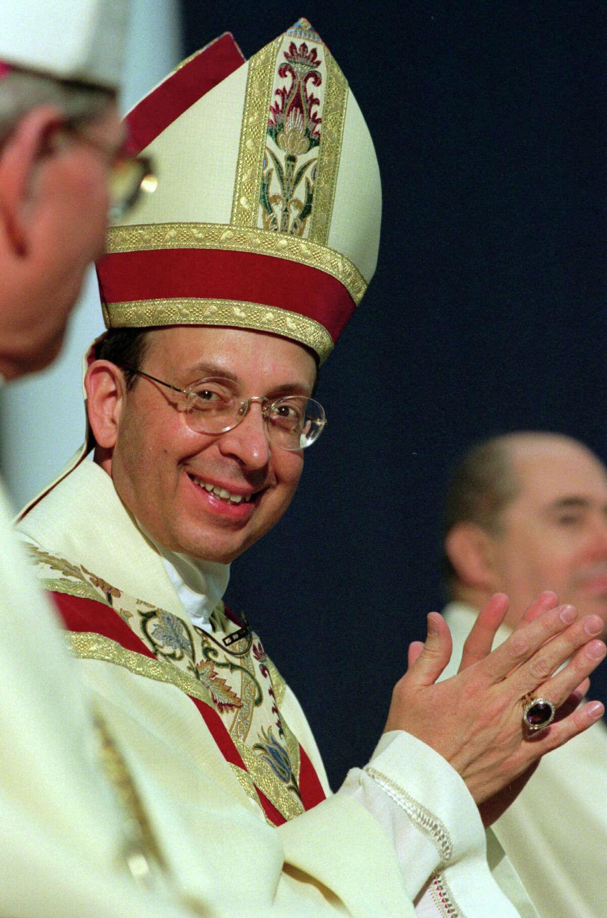 Bishop William E. Lori installation as the forth Bishop of Bridgeport in 2001.
