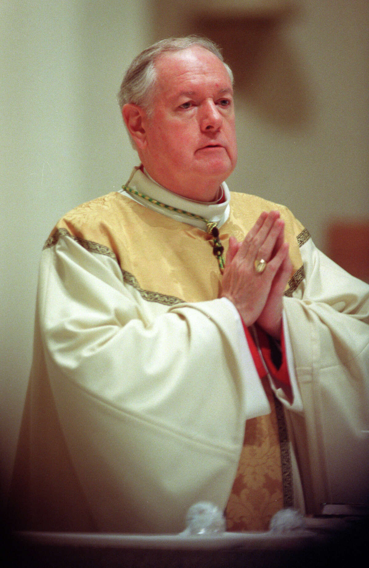 Cardinal Edward Egan served as Bishop of the Roman Catholic Diocese of Bridgeport from 1988-2000.