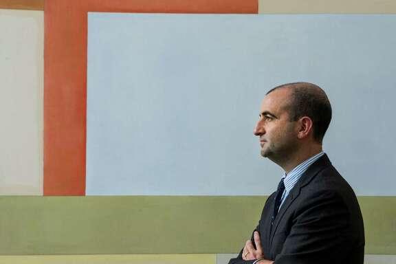 David Breslin, Menil Drawing Institute chief curator, poses for a portrait on Thursday, Sept. 15, 2016, in Houston. Breslin is leaving the Menil to join the Whitney Museum of American Art in New York. ( Brett Coomer / Houston Chronicle )
