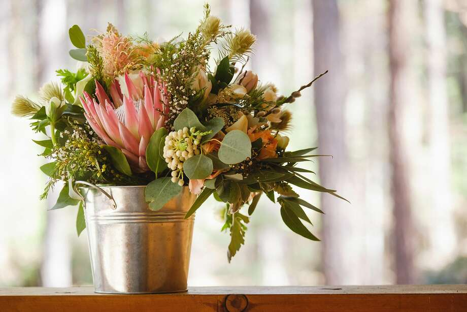 Farmgirl Flowers provided the blooms. Photo: Patrick Pike Photography