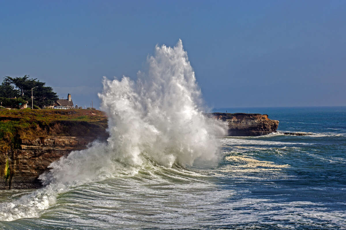 West Cliff Drive, Santa Cruz: Begin your drive in Santa Cruz and head toward Natural Bridges State Beach, or go in the opposite direction and check out the Santa Cruz Surfing Museum. Either way, you can be sure to get some scenic views of Monterey Bay.