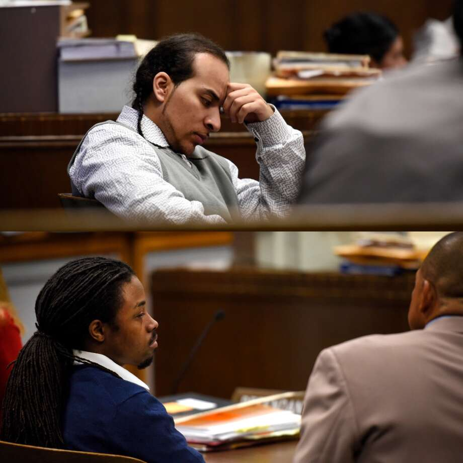 Mario Floyd (top photo) and Stephon Lee were convicted of murder Thursday by an Alameda County Superior Court jury. Photo: Michael Short / Special To The Chronicle / /