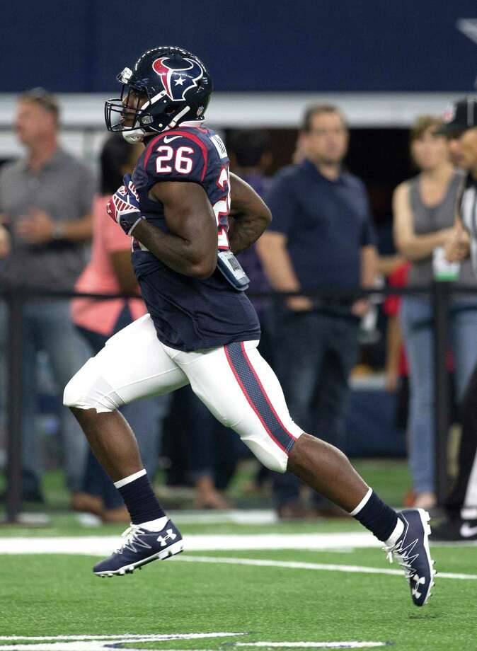 Lamar Miller had touchdown runs of 97 and 85 yards in each of the last two seasons. So far, his longest run has been 15 yards. Photo: Brett Coomer, Staff / © 2016 Houston Chronicle