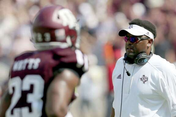 Texas A&M coach Kevin Sumlin said his team has made strides but isn't where it wants to be. The 17th-ranked Aggies compiled a 16-10 record the last two seasons.