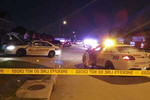 Gunshots rang out at a home in the 5400 block of Plantation Forest Drive in the Katy area.