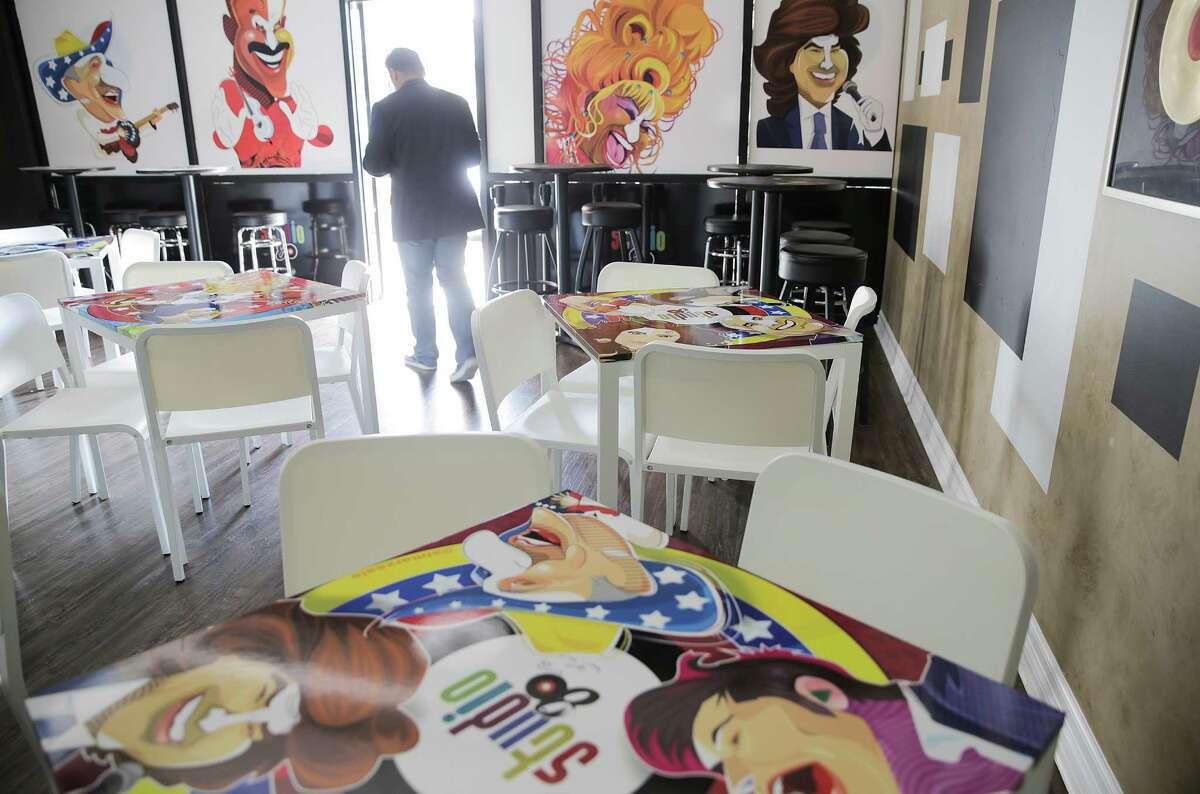 Studio 80's in Katy, was opened by Venezuelan couple Lisbeth Canga and husband Humberto Tancredi photographed on Tuesday, Sept. 6, 2016, in Katy.( Elizabeth Conley / Houston Chronicle )