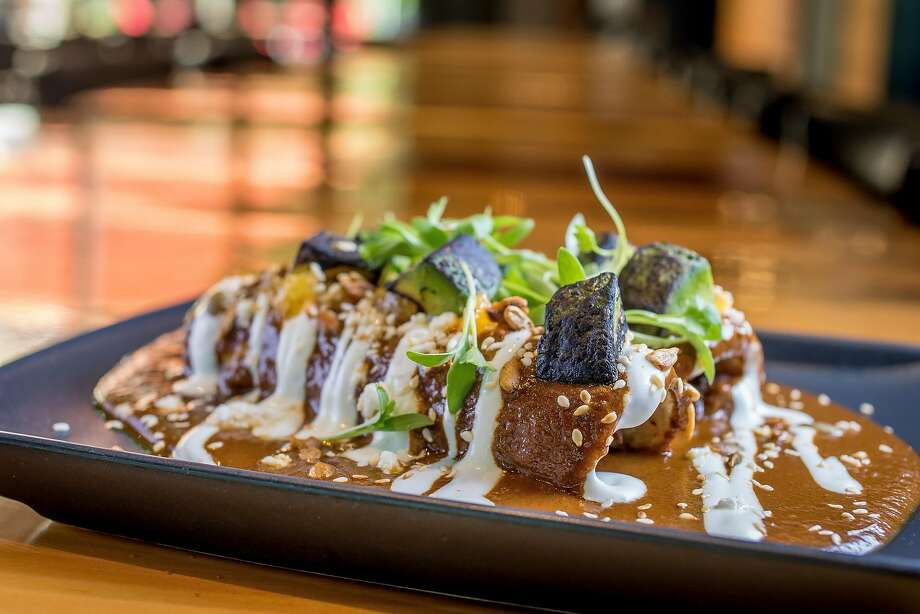 Enchiladas De Mole Rojo at Playa in Mill Valley. Photo: John Storey, Special To The Chronicle