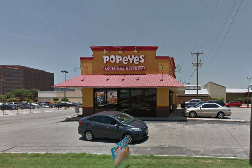Popeyes Chicken & Biscuits: 10131 Wurzbach Road Date: 07/29/2019 Score: 81 Highlights: Inspectors shut down the establishment due to no hot water. A plumber arrived during the inspection and explained that the heating element on the water heater was beyond repair and would be replaced the next day. The ice machine drain pipes were draining directly on the floor instead of over the drain. Deep cleaning and sanitizing needed to be conducted in certain areas of the establishment.