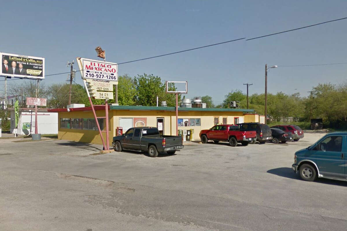 El Taco Mexicano: 3603 SW Military Dr., San Antonio, TX 78211 Date: 08/08/2017 Score: 75 Highlights: Inspector observed dead roaches in establishment; raw eggs stored at room temperature; raw chicken seen thawing using improper method; employee seen handling ready-to-eat foods without gloves; prepared foods not labeled with expiration date; plumbing repairs needed for three-compartment sink; employee did not wash hands prior to donning gloves; ice scoop holder is dirty, in need of cleaning; some employees need food handler certificates