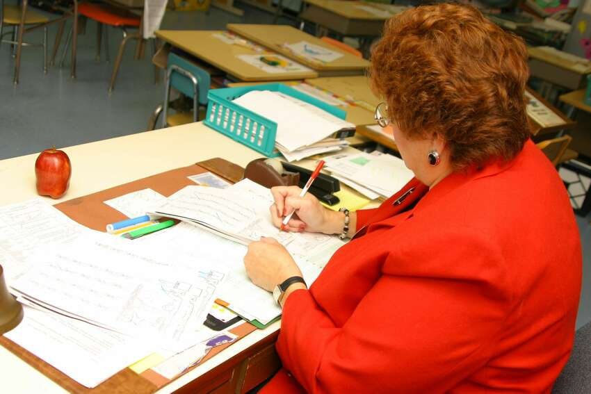 Teachers work from 8 a.m. to 3 p.m.